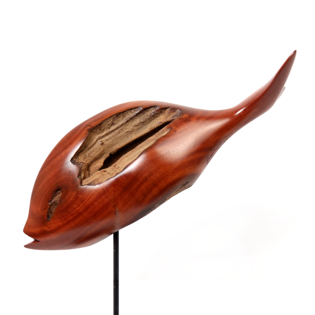Fish 2 - Common Resin Wood - Small