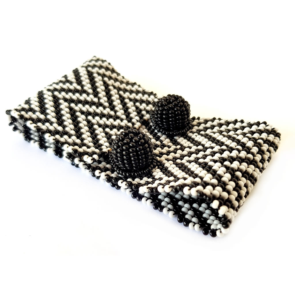 Bracelet - Woven Bead - Medium Herringbone BW