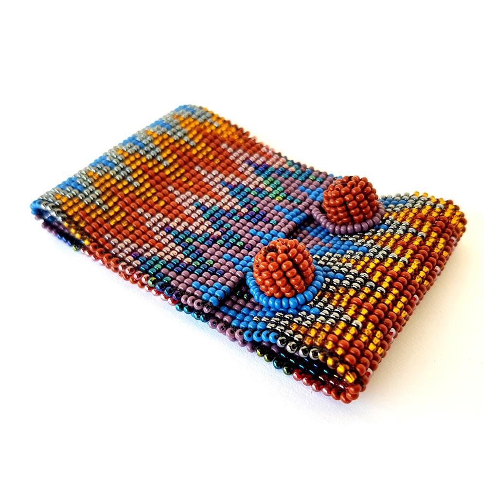 Bracelet - Woven Bead - Medium ZigZag