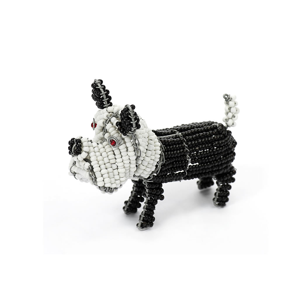 Dog - Bead and Wire - Small