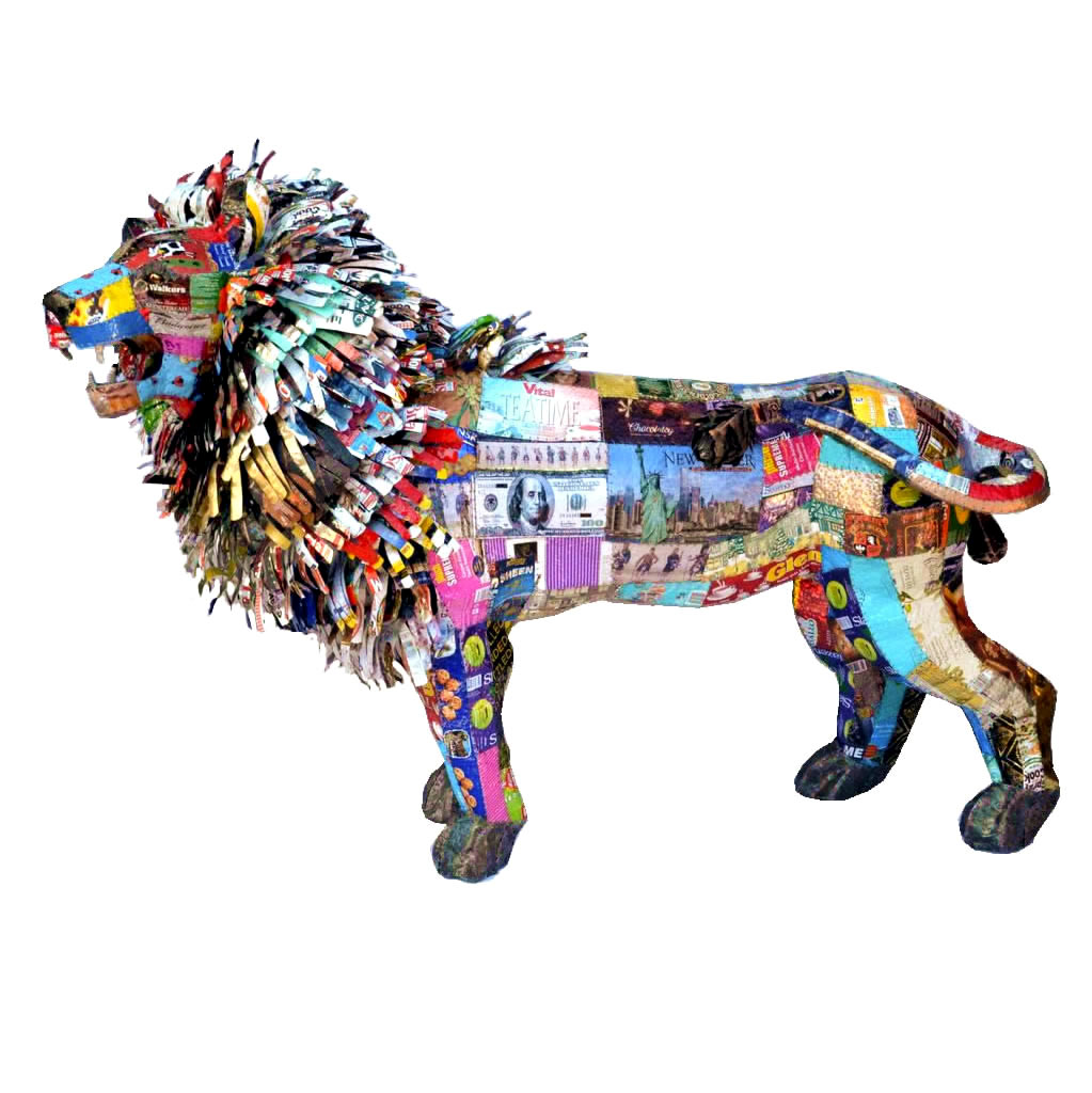 Lion - Freestanding Sculpture - Large
