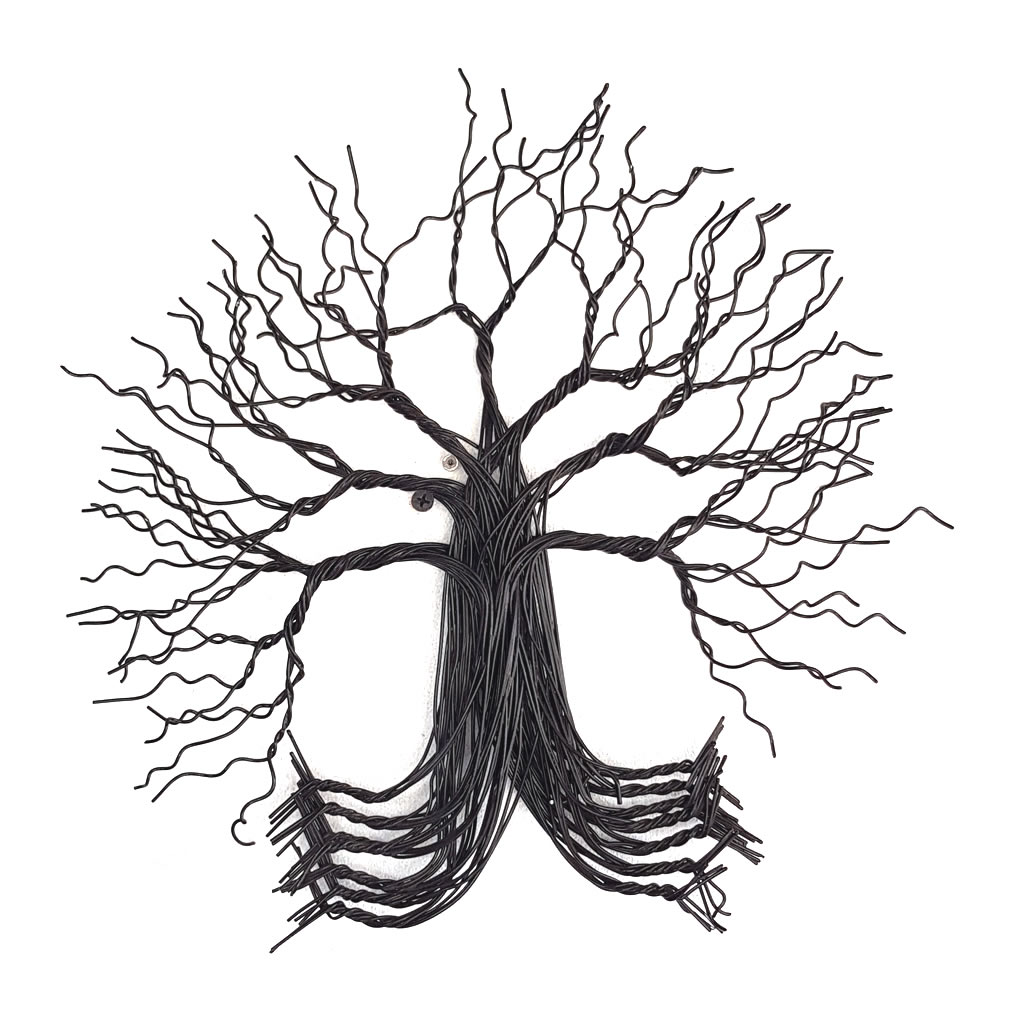 Tree - 2D in Wire - Small