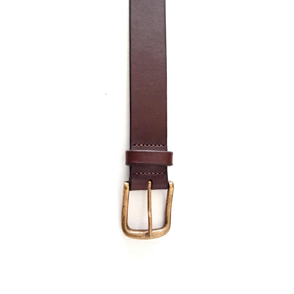 Leather Belt - Mens - Brown