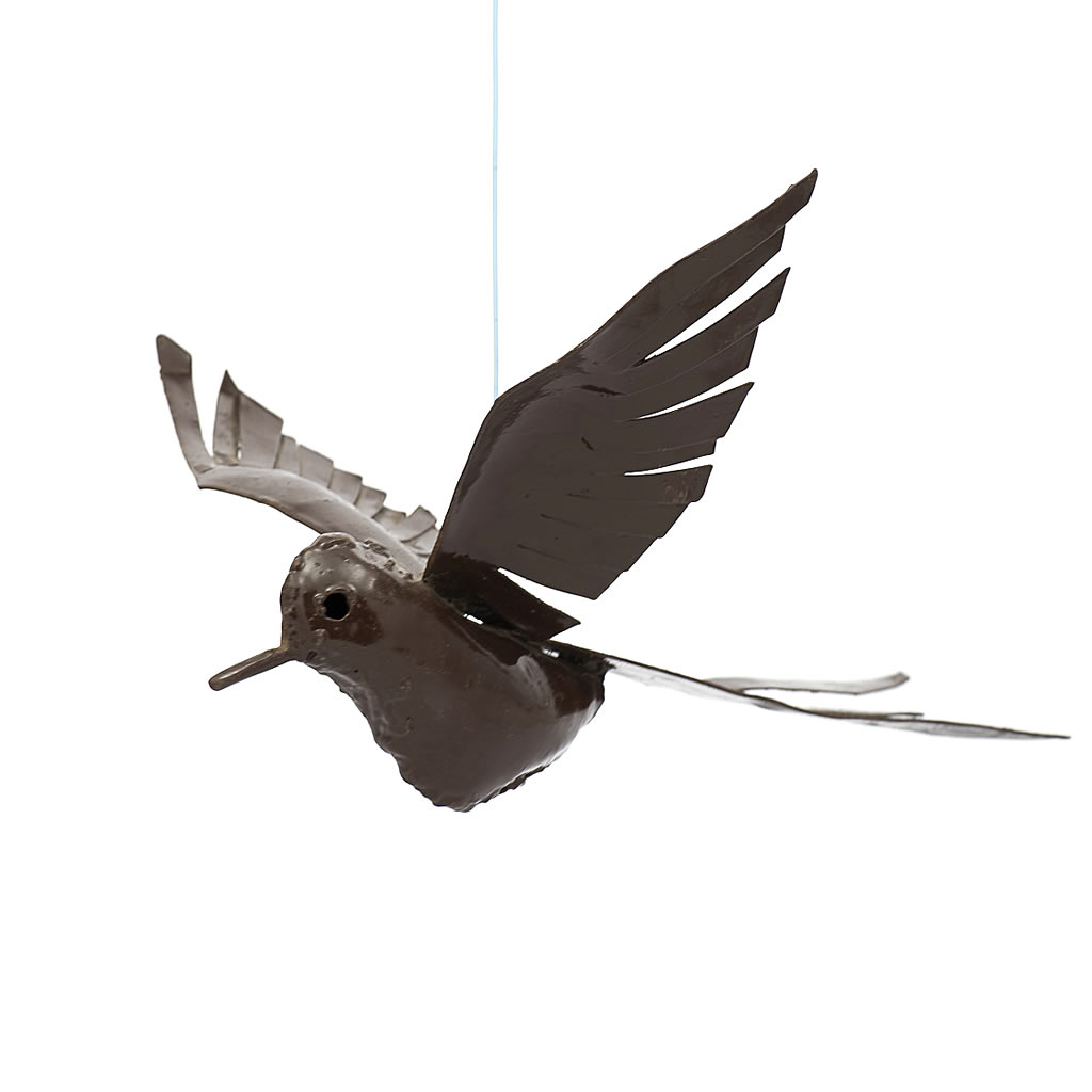Bird - Flying - Recycled Metal - Swallow Tail