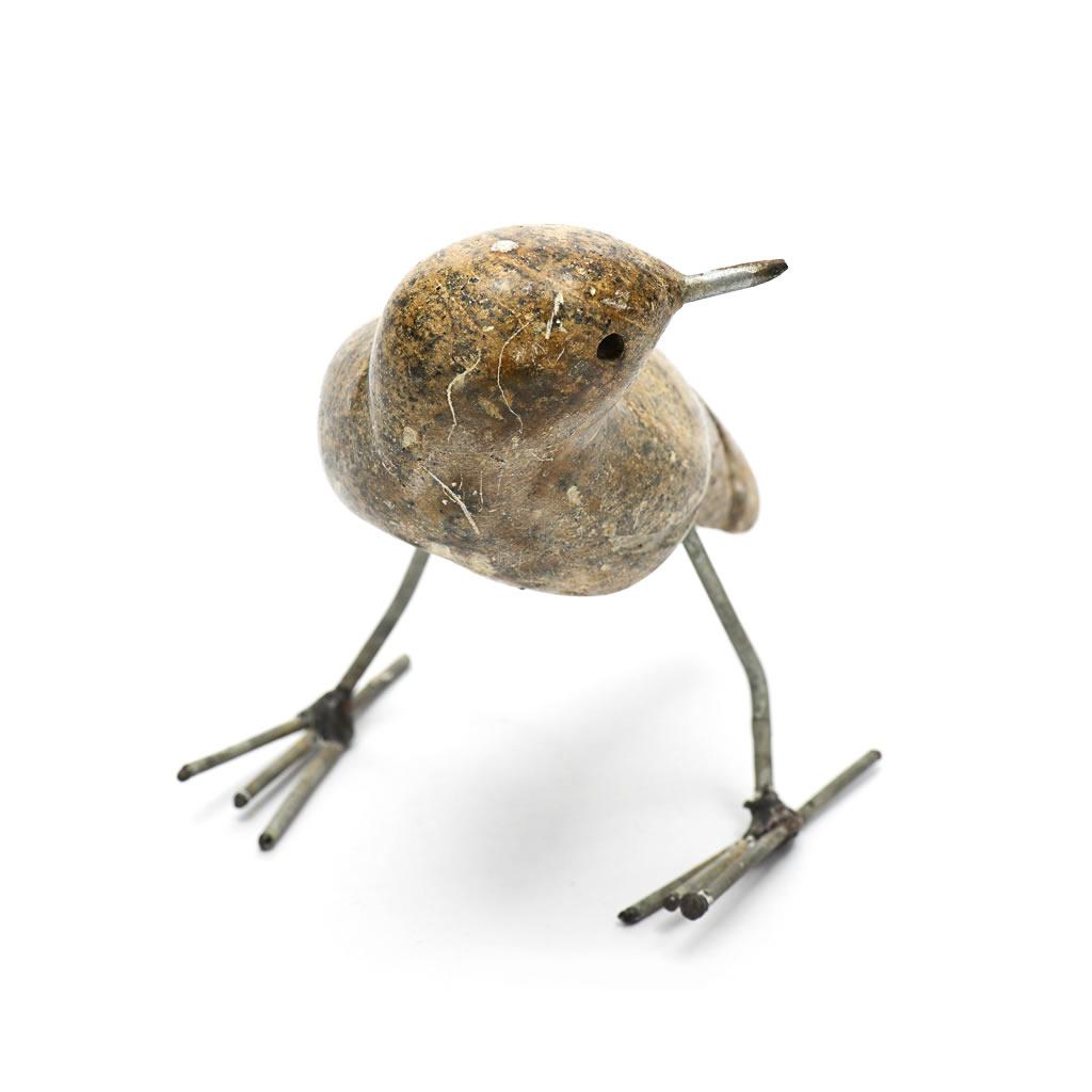 Bird - Soapstone - Standing - Light
