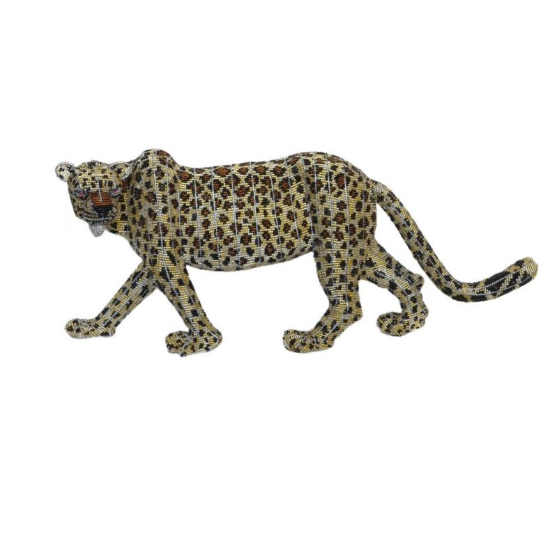 Leopard - Bead Sculpture - Small