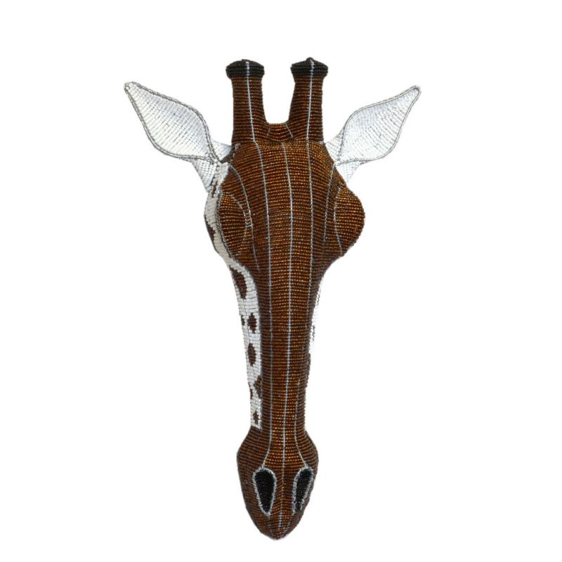 Giraffe - 2D Bead Sculpture