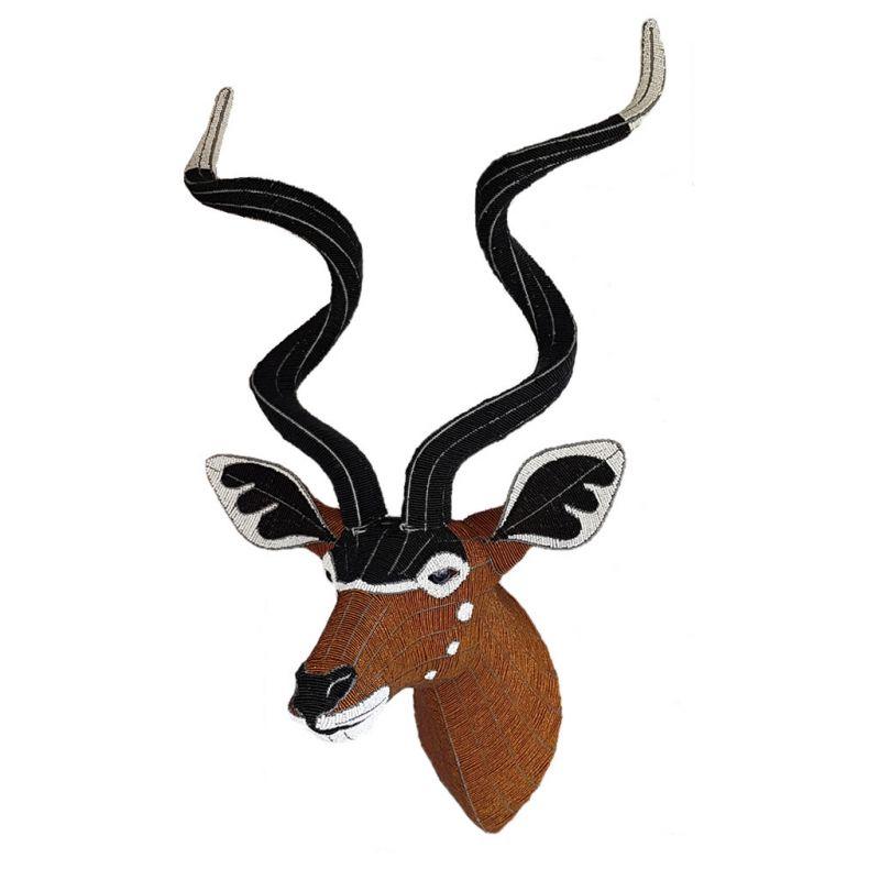 Kudu - Bead Trophy Head - Masterpiece