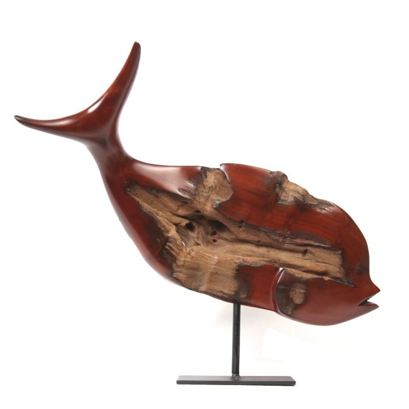 Fish - Common Resin Wood - Medium