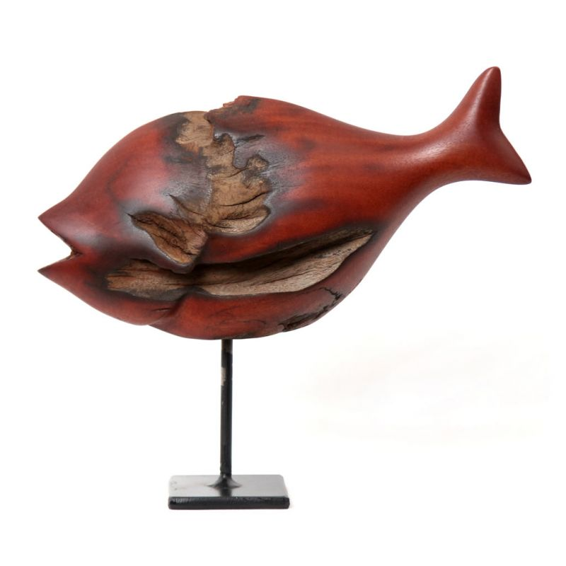 Fish - Common Resin Wood - Small