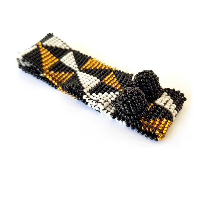 Bracelet - Woven Beads - Extra Narrow Triangle