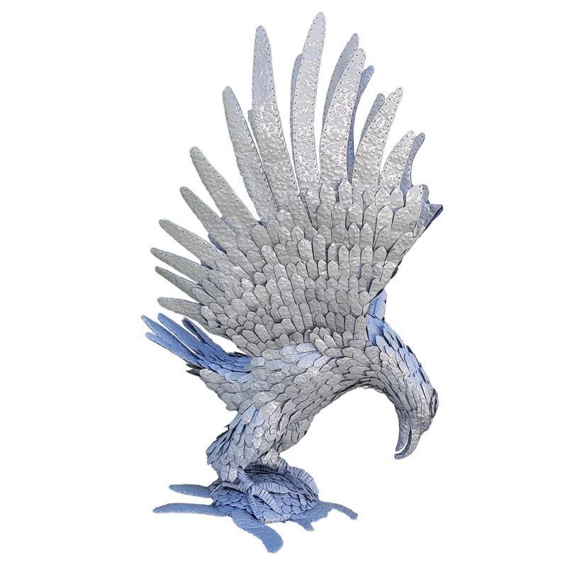 Eagle - 'Chivindi' - Recycled Metal - Masterpiece