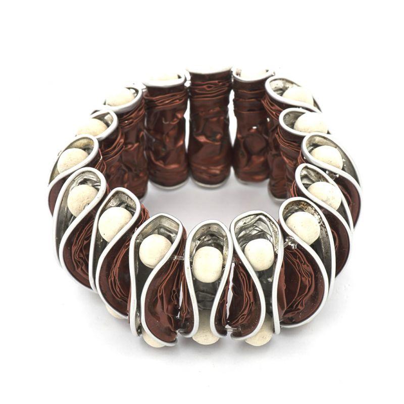 Bracelet - Recycled  Coffee Pod - Copper