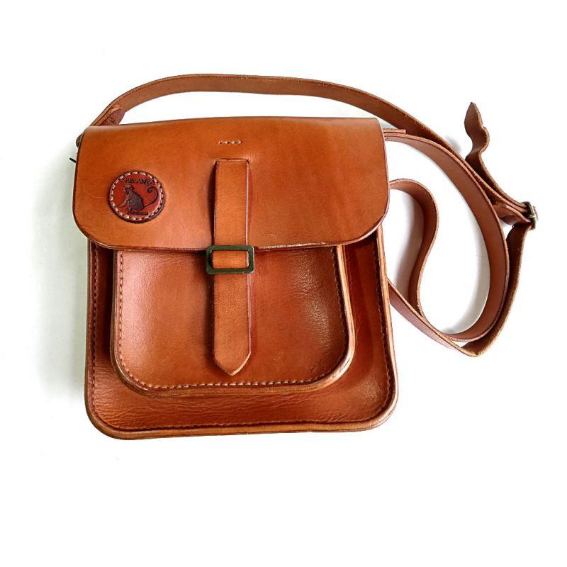 Leather - Messenger Bag