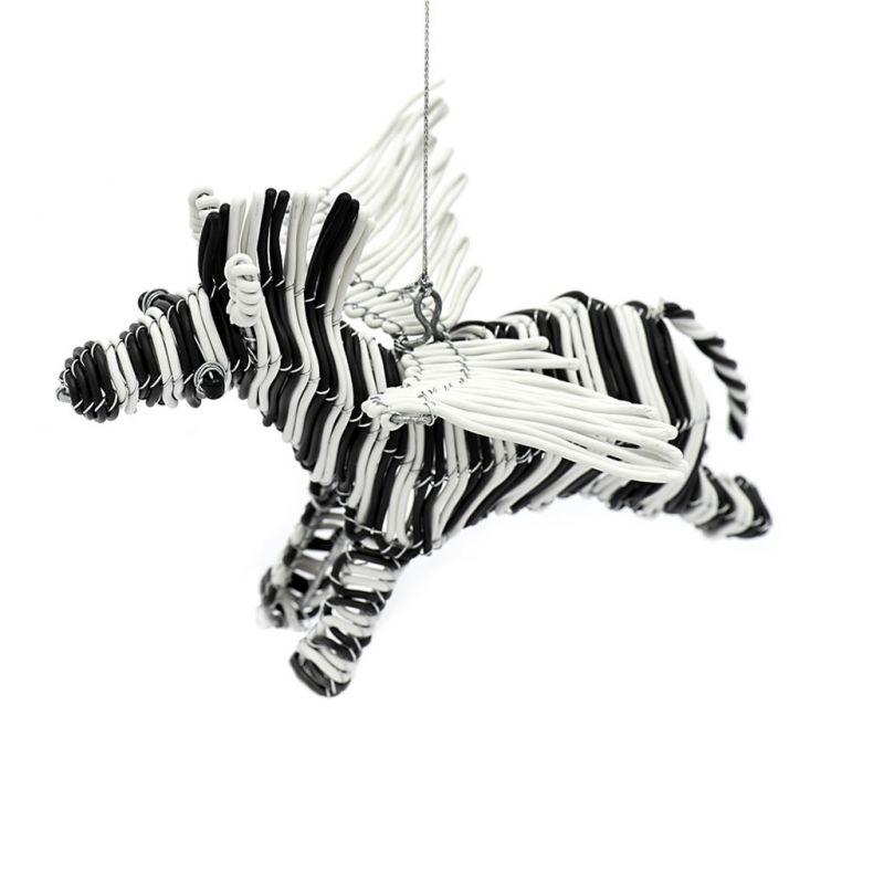 Flying Zebra - Telephone Wire - White/Black