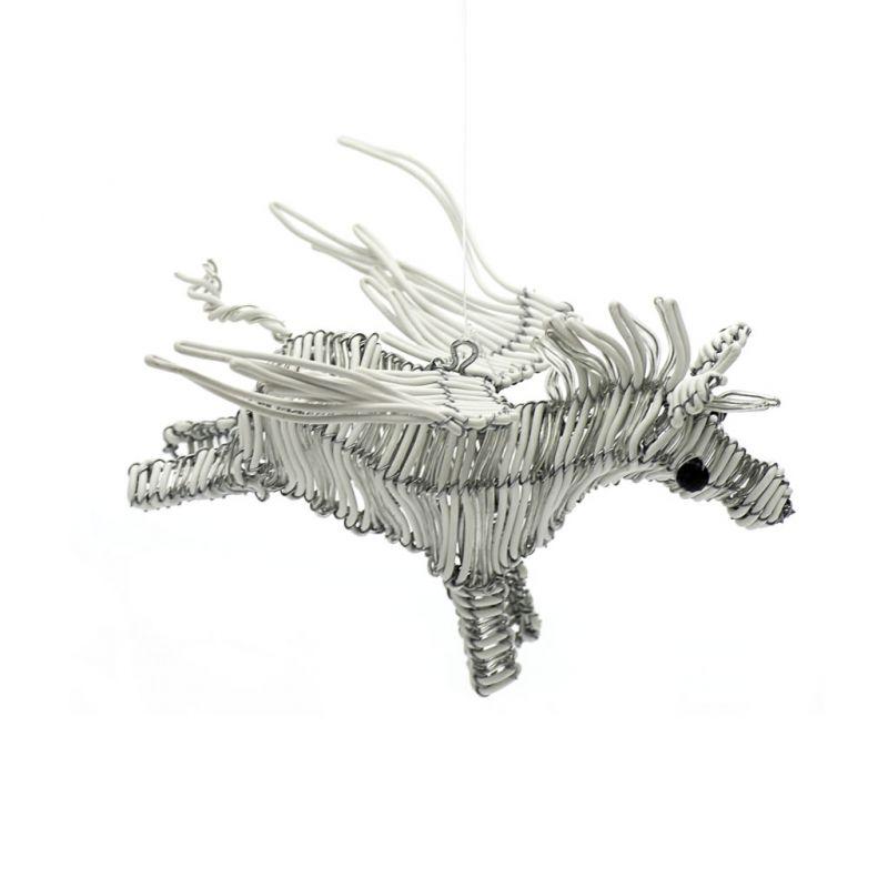Flying Zebra - Telephone Wire - White