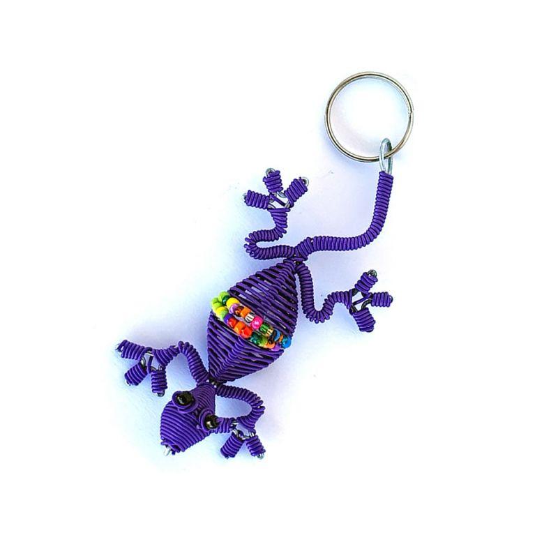 Keyring - Gecko - Purple