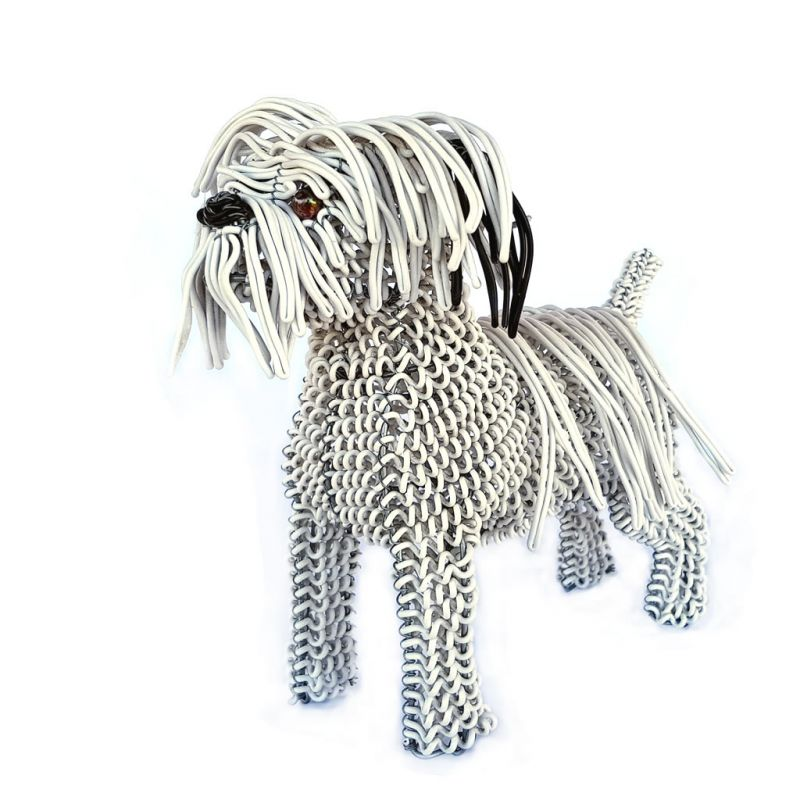 Maltese Poodle - Freestanding - Sculpture