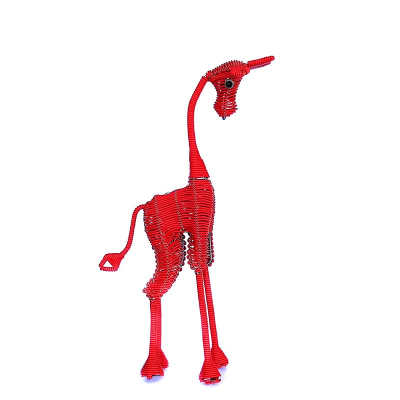 Giraffe - Freestanding - Red