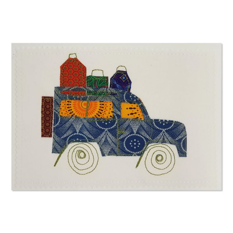 Landrover 01 - Greetings Card - A5