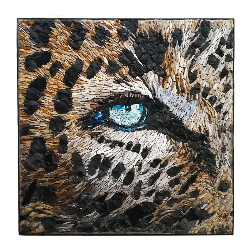 Mosaic - Jaguar Eye