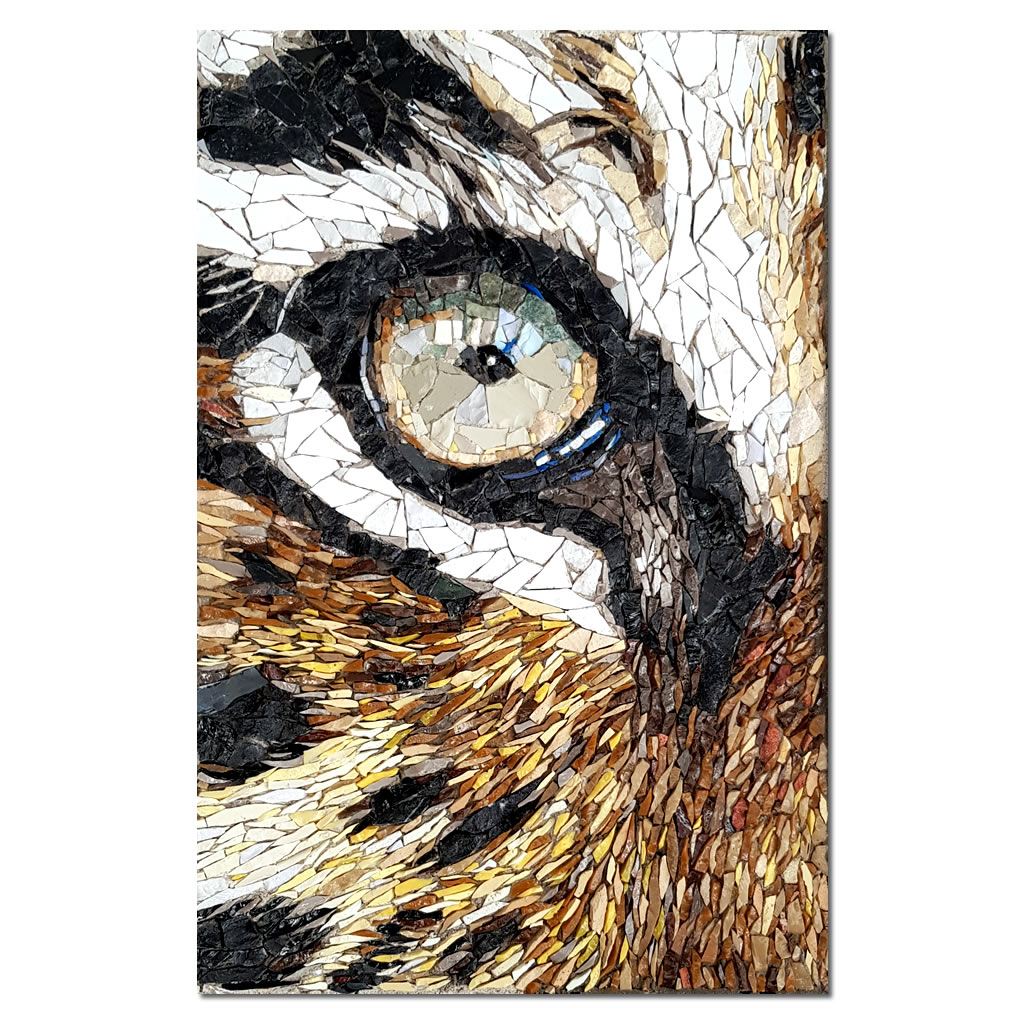 Mosaic - Leopard Eye