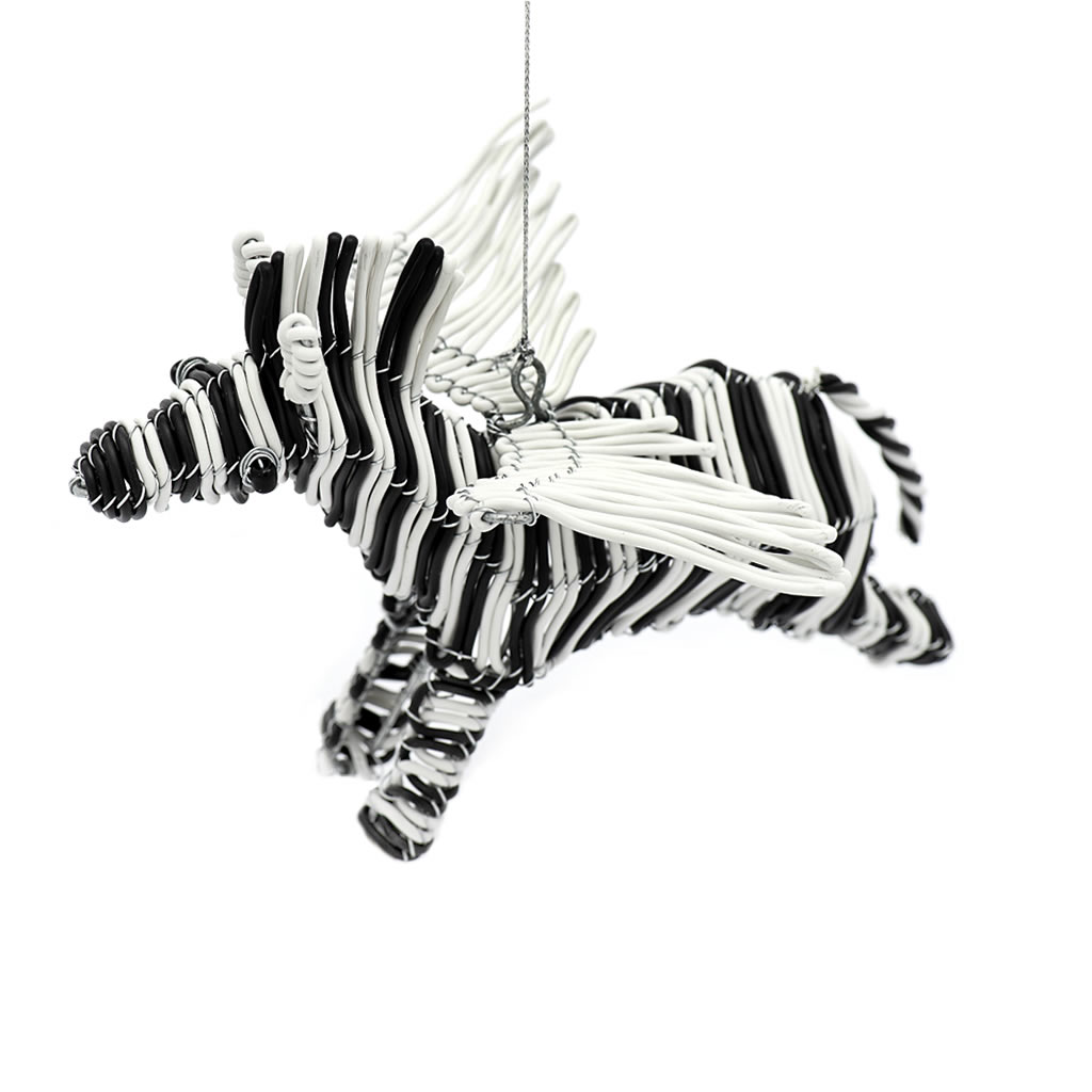 Flying Zebra - Telephone Wire - White/Black
