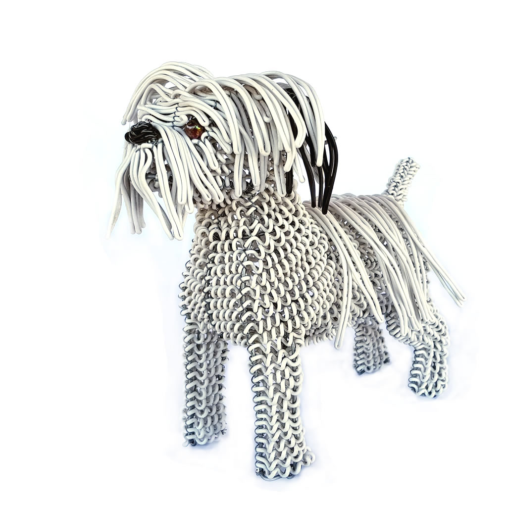 Maltese Poodle - Freestanding - Sculpture