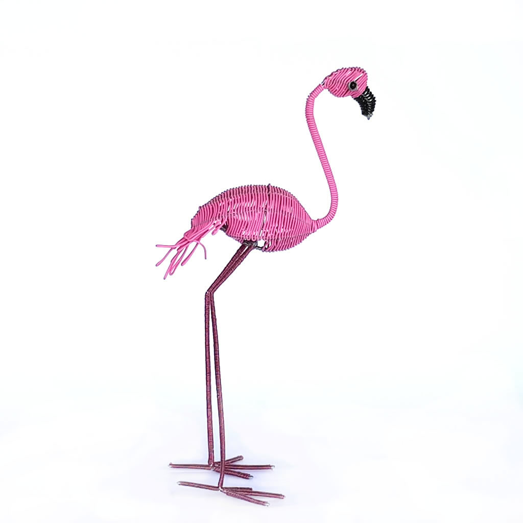 Flamingo - Freestanding - Pink
