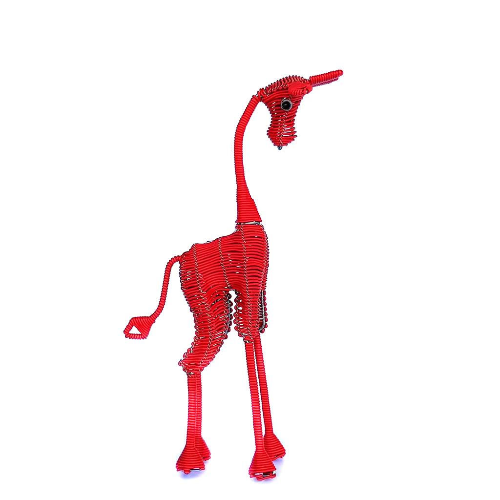 Giraffe - Freestanding - Red