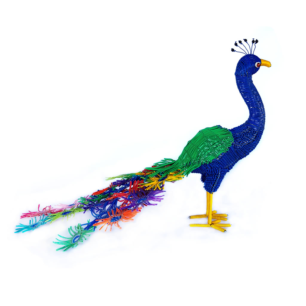 Peacock - Freestanding - Multicolour