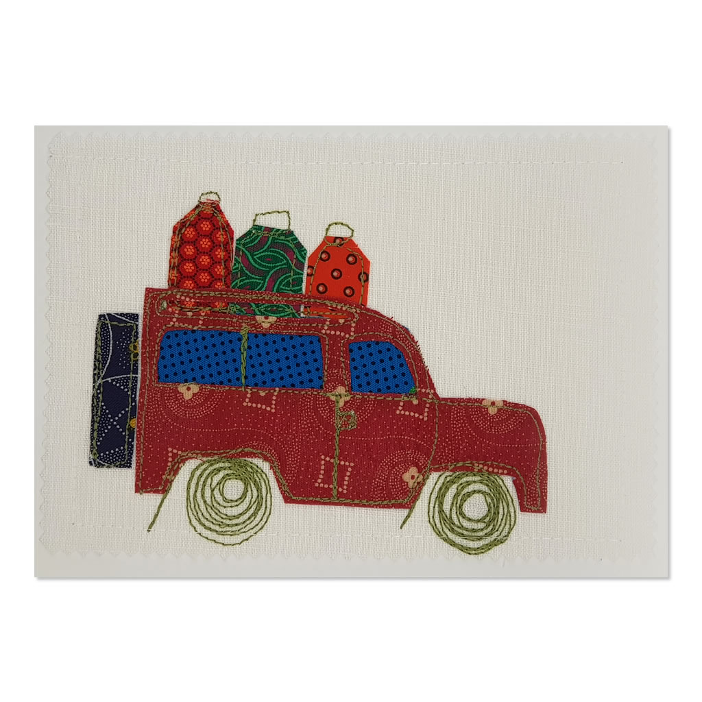 Landrover 02 - Greetings Card - A5