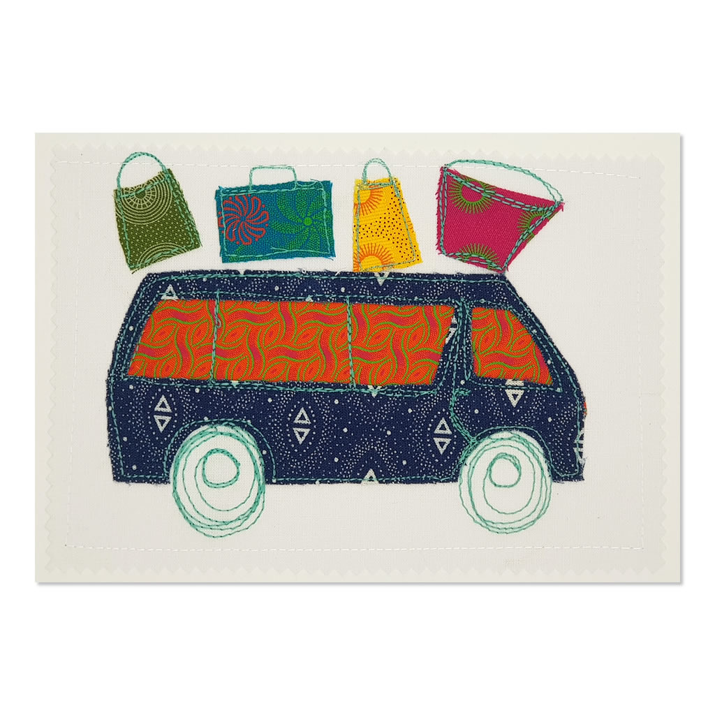 Taxi 01 - Greetings Card - A5