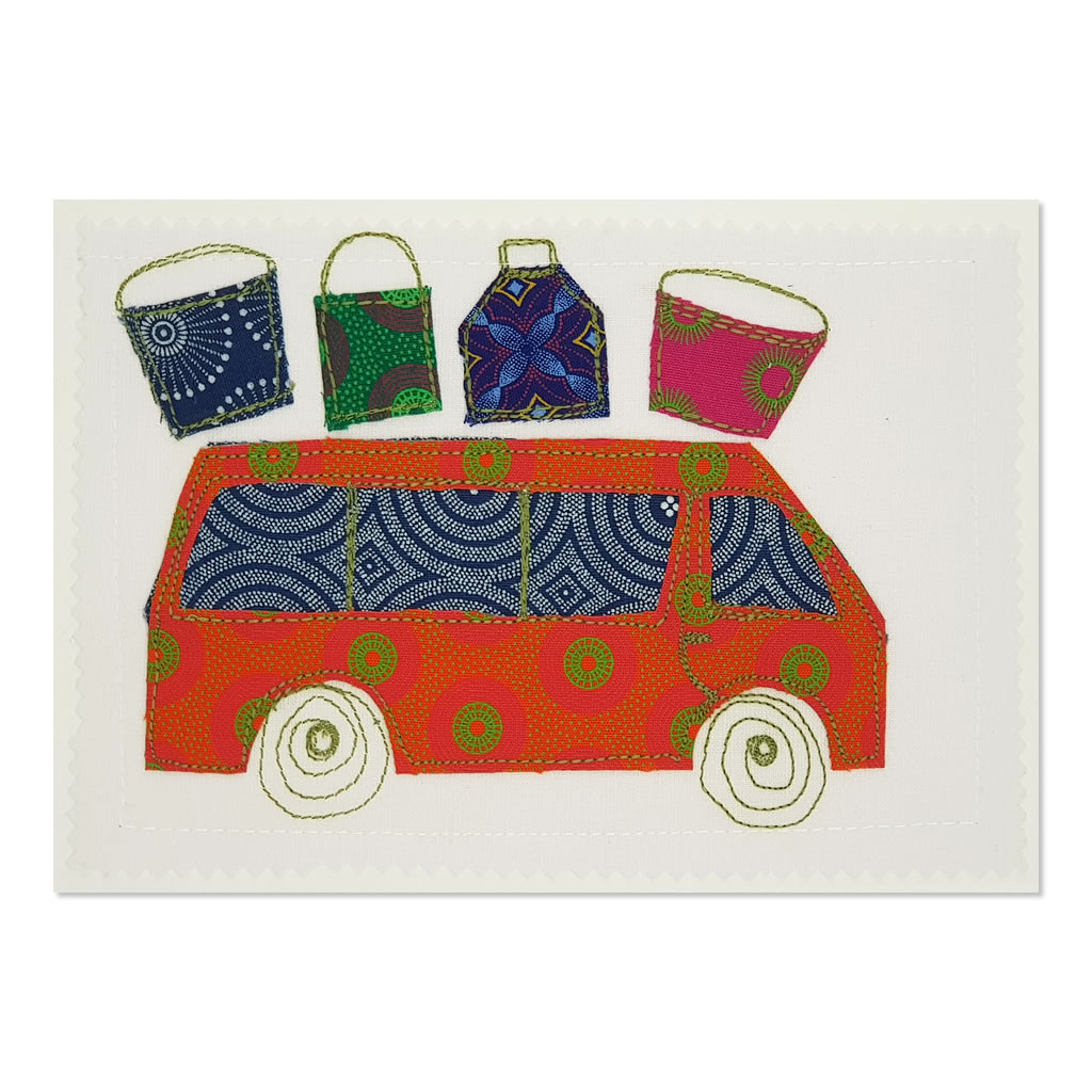 Taxi 02 - Greetings Card - A5