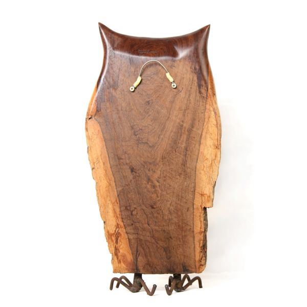 Owl 4 - Leadwood - Freestanding Sculpture