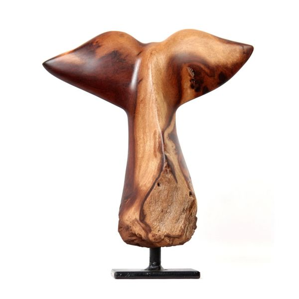 Whale Tail - Mopane Wood - Small