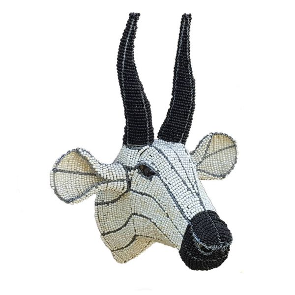 Eland - Trophy Head - White & Black