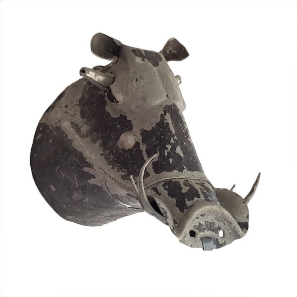 Warthog - Metal Trophy Head
