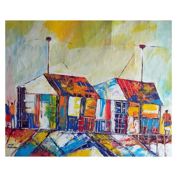 Painting - Acrylic on Canvas - Home Sweet Home
